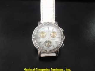 INVICTA 0729 GOLD/SILVER WATCH PLATED   WMS WATCH
