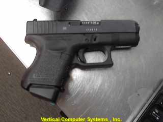9MM 26 PISTOL-SEMI AUTO GLOCK 9MM  BLUE