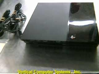PS4 CUM_1021A PLAYSTATION 4 SYSTEM    BLACK