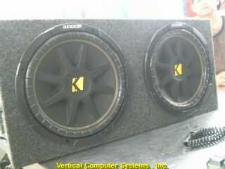 KICKER KICKER_COMP SUBWOOFER-CAR    BLACK/YELLOW