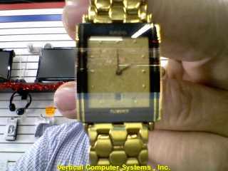 RADO NON-GOLD WATCH L'S OTHER WATCH  50 DWT GOLDTONE RADO FLORENCE WATCH GOLDTON