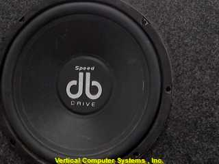 DYNAMIC_BASS SPEED_DRIVE SPEAKERS-CAR   SINGLE SUBWOOFER GRAY