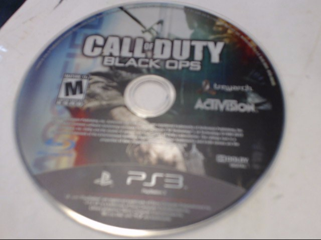 SONY PS3 PS3 CALL OF DUTY BLACK