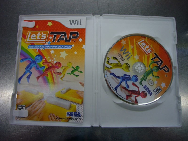 NINTENDO Wii Game LETS TAP
