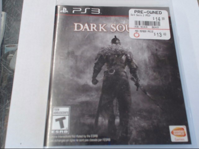 DARK SOULS II PS3 GAME