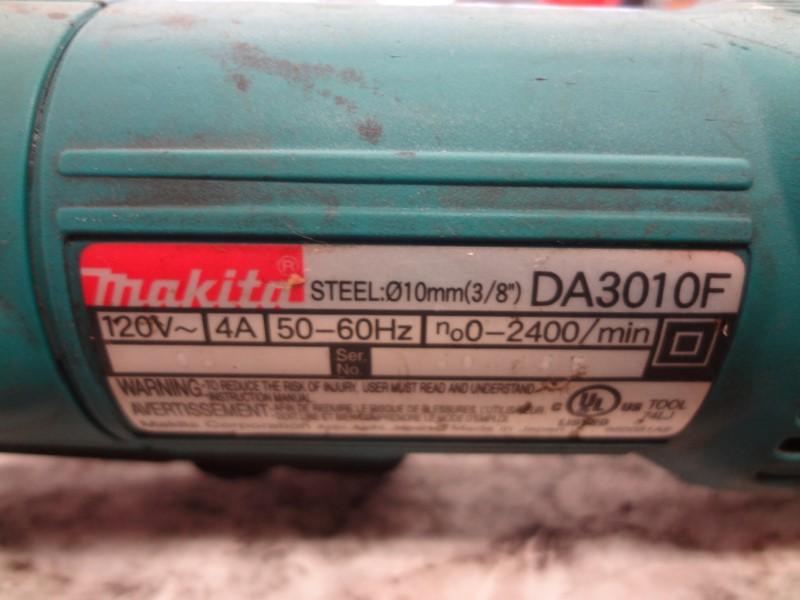 MAKITA ANGLE DRILL DA3010F
