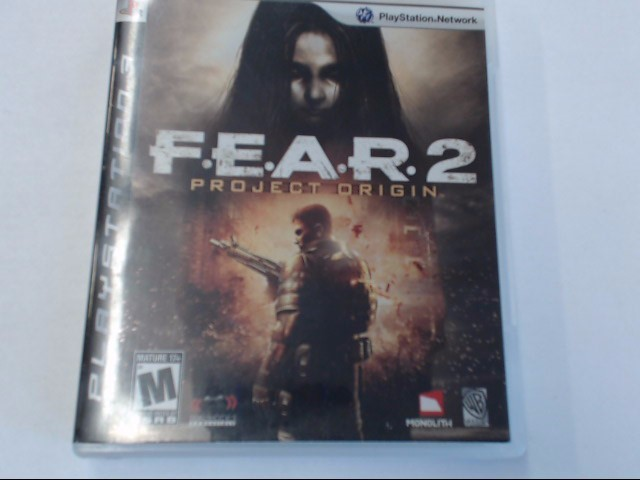 FEAR 2 PS3 GAME