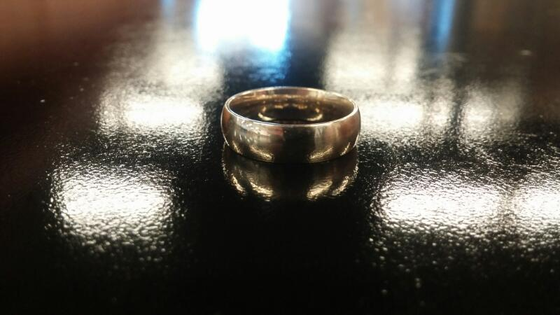 Gent's Gold Ring 10K Yellow Gold 4.2dwt Size:10