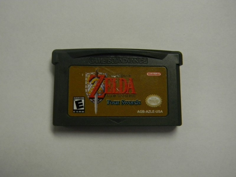 Nintendo Gameboy Advance GBA The Legend of Zelda Four Swords A Link To The Past