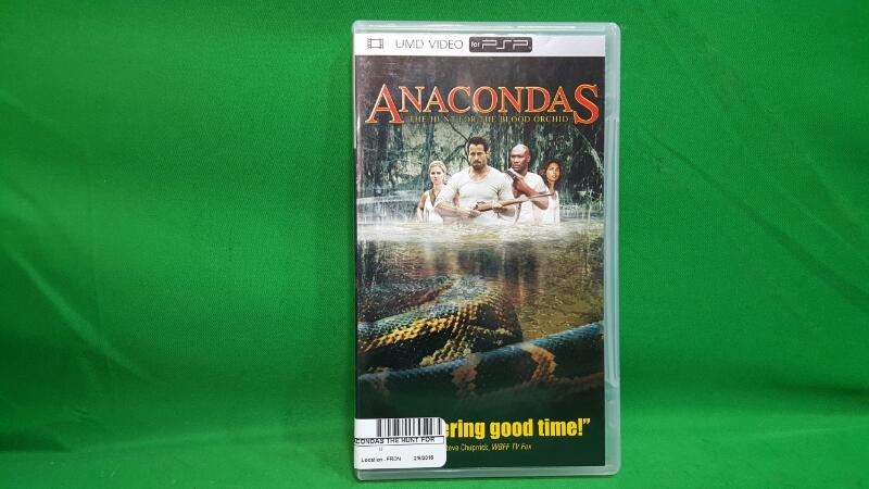 SONY UMD ANACONDAS THE HUNT FOR THE BLOOD ORCHID