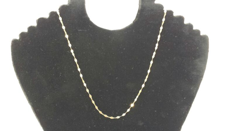 "10k 18"" Gold Fashion Chain"