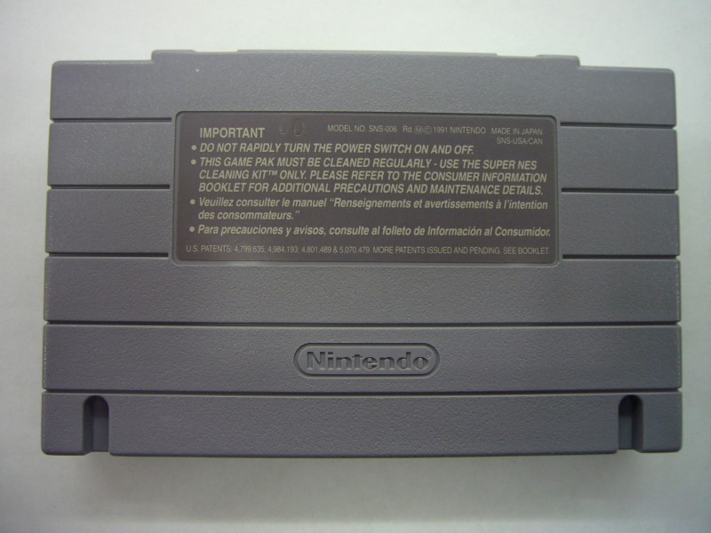 "NINTENDO SNES BATTLECLASH ""GAME ONLY"""