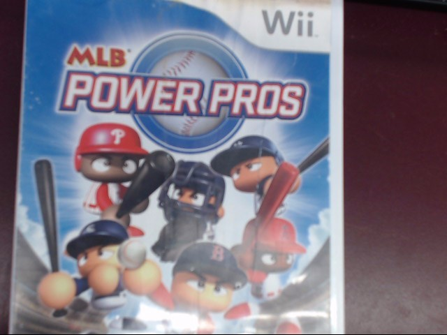 NINTENDO WII MLB POWER PROS 2008