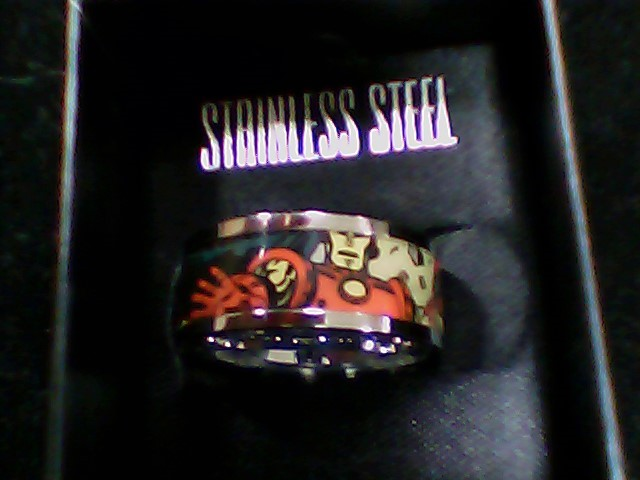 Gent's Ring Silver Stainless 7g