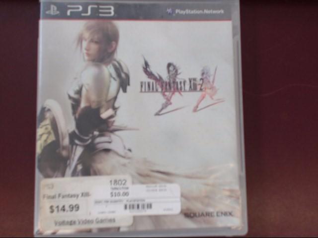 SONY Sony PlayStation 3 Game FINAL FANTASY XIII