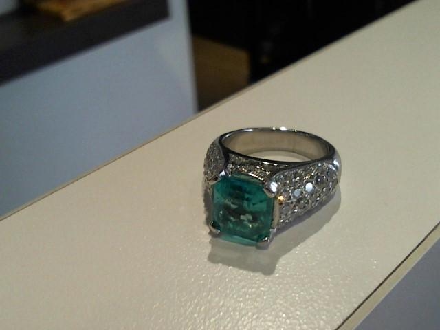 Lady's Platinum Ring 950 Platinum 4g