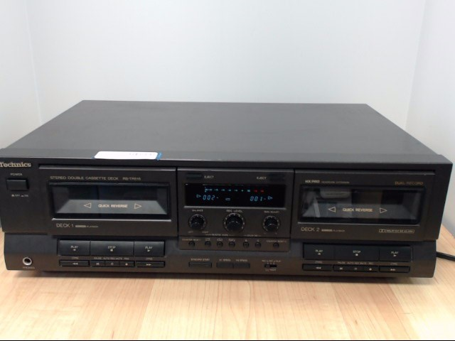 TECHNICS CD Player & Recorder RS-TR515