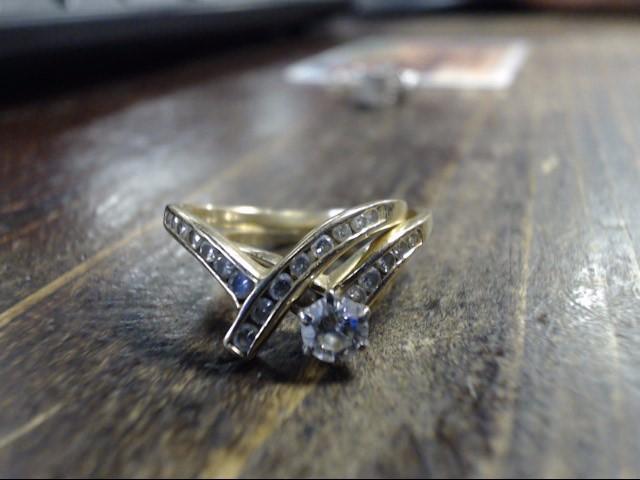 Lady's Diamond Wedding Band .25 CT. 14K Yellow Gold 3.9g