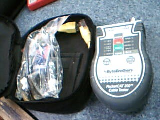 bytebrothers POCKETCAT 200 cable tester