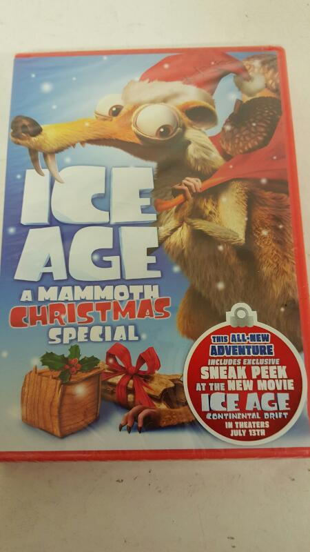 Ice Age: A Mammoth Christmas Special DVD - Factory Sealed