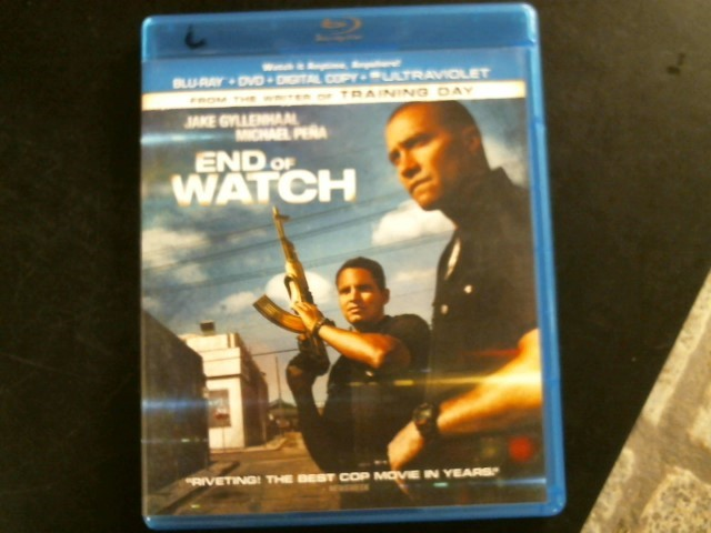 BLU-RAY MOVIE Blu-Ray END OF WATCH
