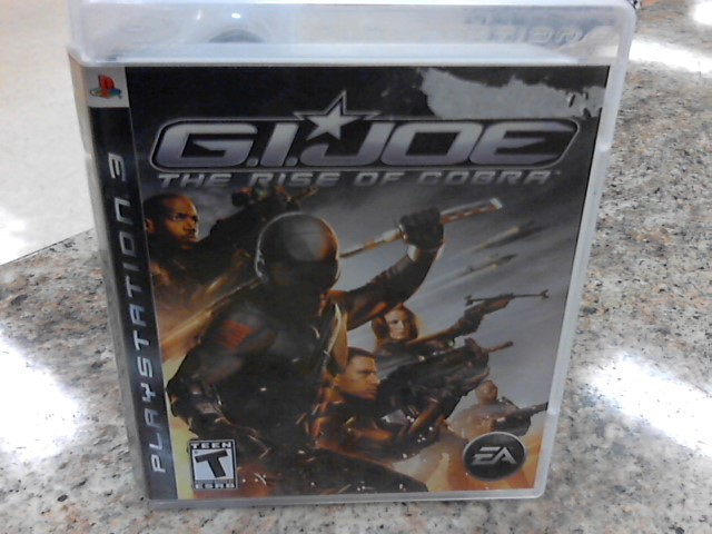 SONY Sony PlayStation 3 Game GI JOE THE RISE OF COBRA