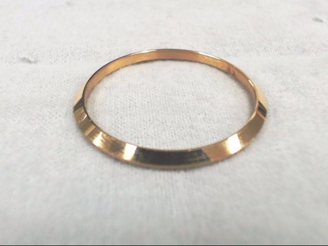 Rolex Mens 18k Yellow Gold SMOOTH BEZEL 34.63 mm