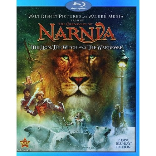 BLU-RAY MOVIE Blu-Ray THE CHRONICLES OF NARNIA THE LION THE WITCH AND TH