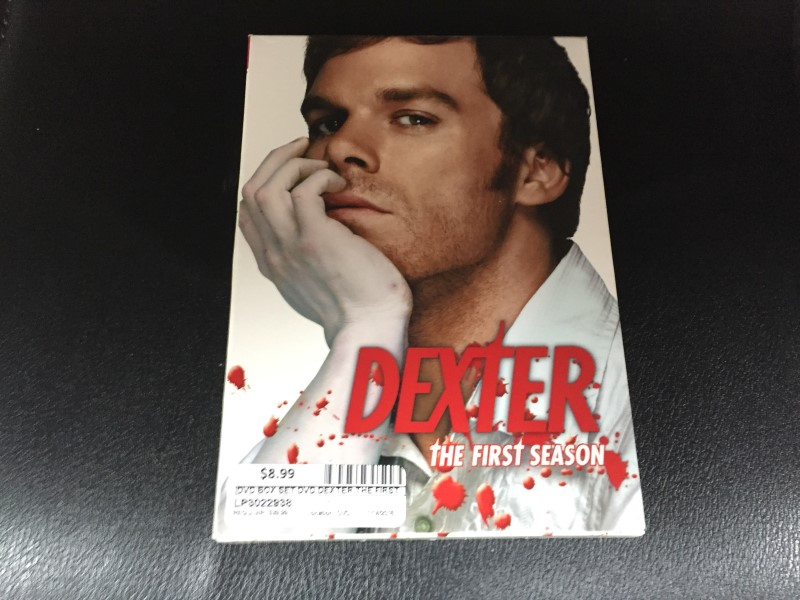 DVD BOX SET DVD DEXTER THE FIRST SEASON