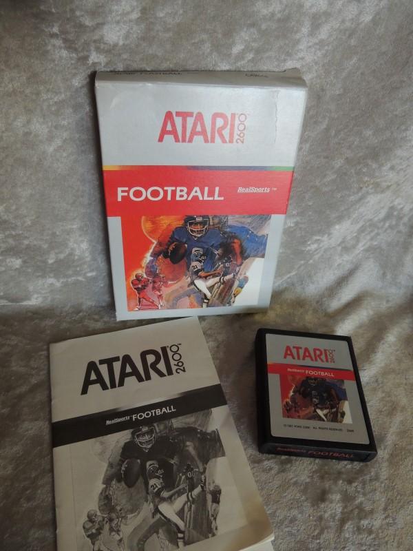ATARI Vintage Game GAMES FOOTBALL REALSPORTS