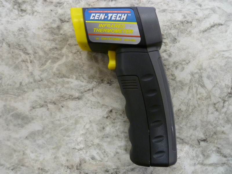 CEN-TECH INFRARED THERMOMETER WITH LASER TARGETING