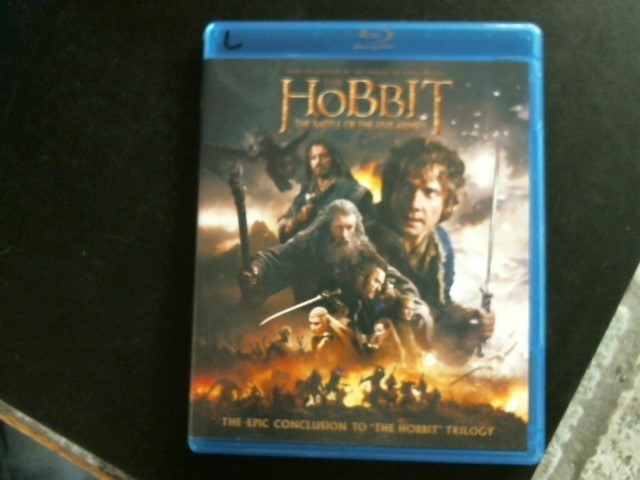 BLU-RAY MOVIE Blu-Ray THE HOBBIT THE BATTLE OF THE FIVE ARMIES