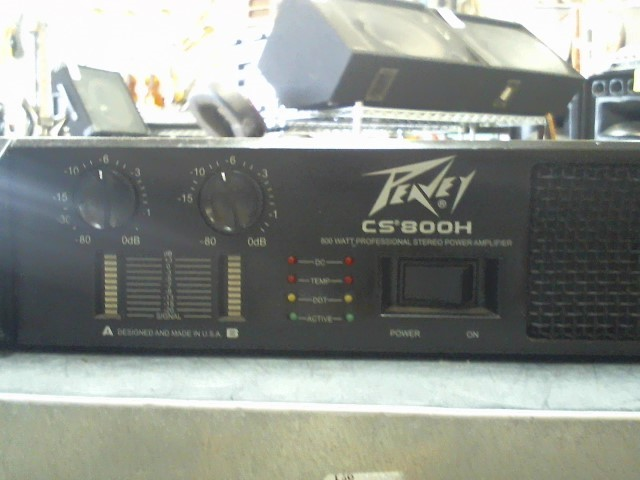 PEAVEY DJ Equipment CS800H