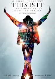 MICHAEL JACKSON THIS IS IT MOVIE POSTER