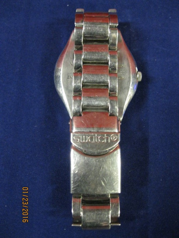 SWATCH Gent's Wristwatch IRONY STAINLESS