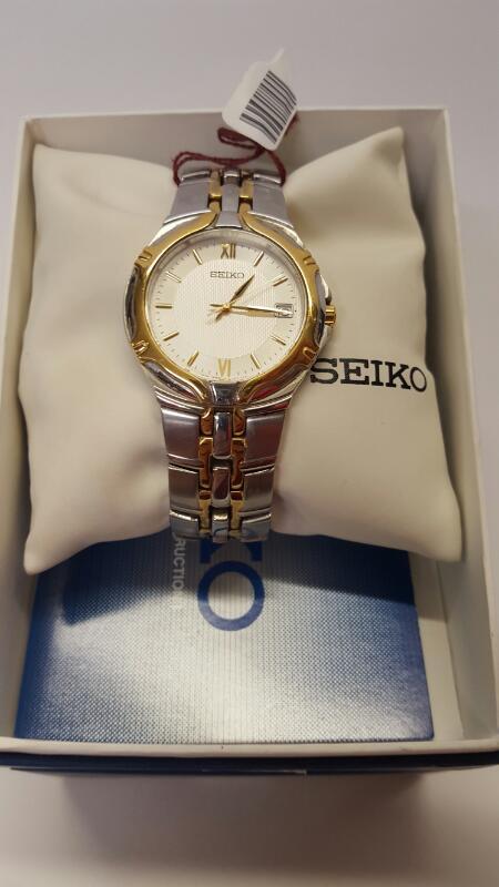 SEIKO Gent's Wristwatch SGEB58