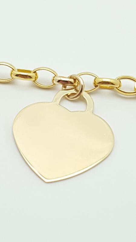 Gold Rolo Bracelet 14K Yellow Gold 3.3g