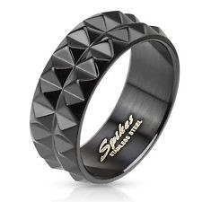 Gent's Ring Black Stainless 3.36dwt