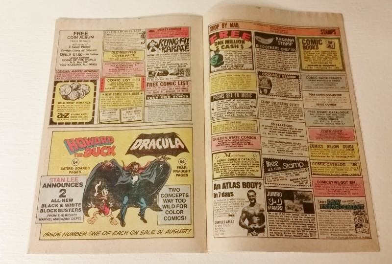 """Uncanny X-Men #127 Nov 1979 """"The Quality of Hatred!"""" *WATER DAMAGE*"""