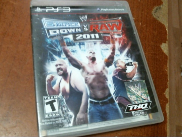 SONY PS3: SMACK DOWN VS: RAW 2011