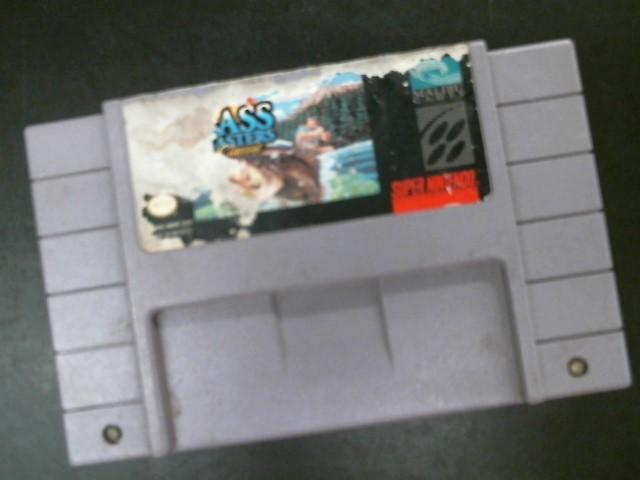NINTENDO Nintendo SNES Game BASS MASTERS CLASSIC SUPER NINTENDO