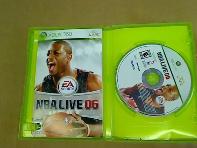 XBOX 360 NBA LIVE 06
