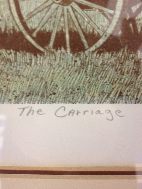 THE CARRIAGE BY COOMLES