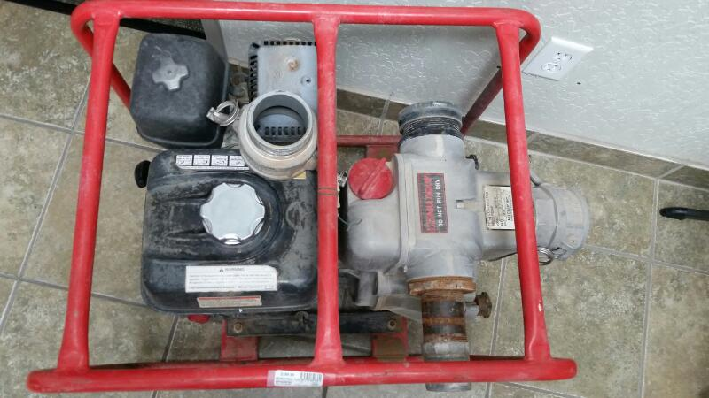MULTIQUIP Miscellaneous Tool QP-3TH WATER PUMP 3X3 8 HP HONDA GX240