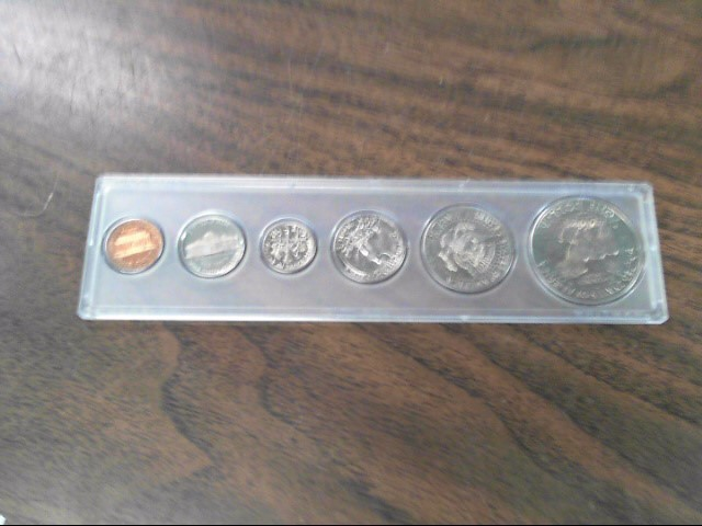 UNITED STATES Mint Set 1974 UNCIRCULATED MINT COIN SET