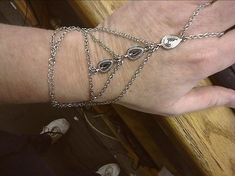 Bracelet Silver Stainless 3.6dwt