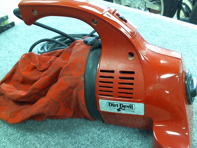 DIRT DEVIL Vacuum Cleaner 103 HOUSEHOLD TYPE