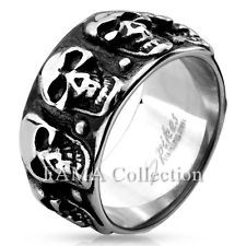 Gent's Ring Silver Stainless 5.58dwt