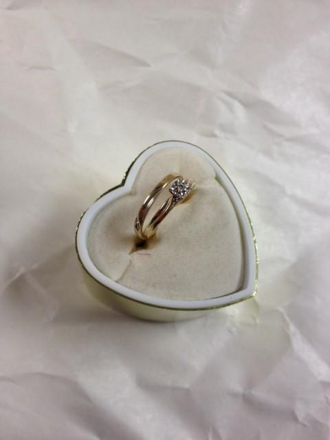 DIAMOND ENGAGMENT SET SIZE 5