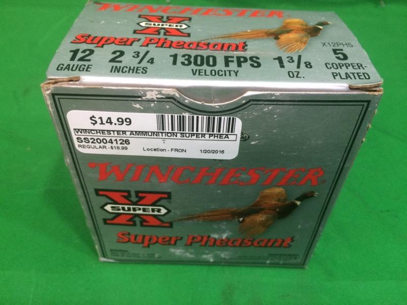 WINCHESTER Ammunition SUPER PHEASANT